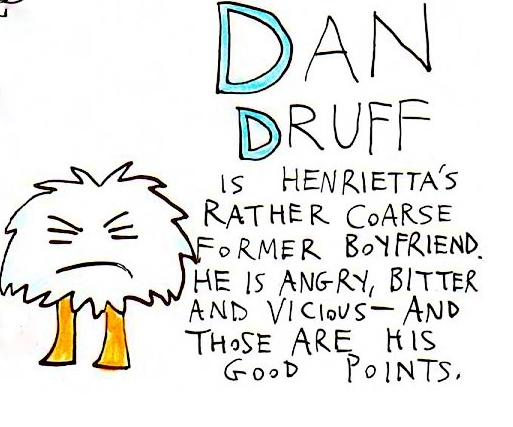 Mortimer Characters Henretta and Dave