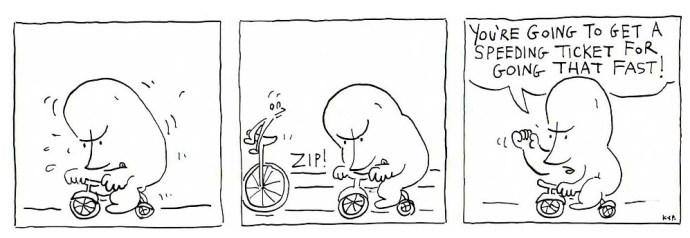 Tricycle and the spider 1
