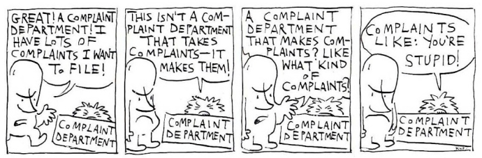 Complaint Department 1