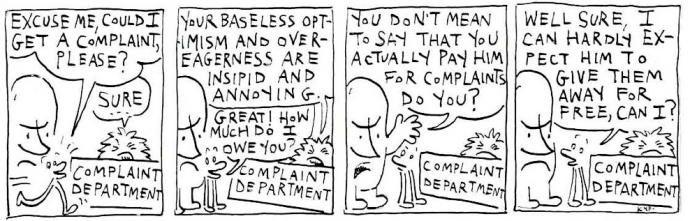 Complaint Department 3