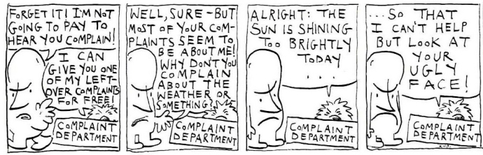 Complaint Department 6
